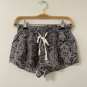 Wilfred Montrouge Paisley Silk Shorts